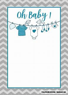 Baby Shower Invites Templates Word Free Printable Onesie Baby Shower Invitations Templates