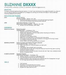 Dental Assistant Objective Examples Dental Assistant Objectives Resume Objective Livecareer