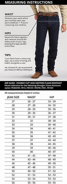 George Size Chart George Strait Cowboy Cut 174 Slim Fit Jean Mens Jeans