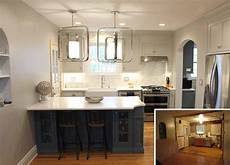 small home remodel before after small kitchen remodel karr bick kitchen