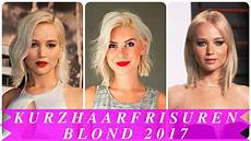 kurzhaarfrisuren frauen 2017 frech blond kurzhaarfrisuren blond 2017