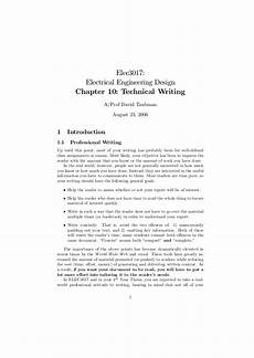 Technical Writing Example Chapter10 Technical Writing