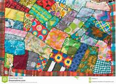 patchwork quilt stock photo image of handcrafted