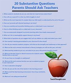 Interview Questions For Special Education Teachers 20 Questions Parents Should Ask Teachers This Or That