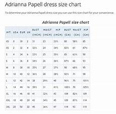 Size Chart Papell Papell Plus Size Chart Best Dresses 2019