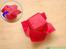 Rose Folding How To Fold A Paper Rose With Pictures Wikihow
