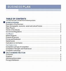 Business Word Template Business Plan Template Free E Commercewordpress