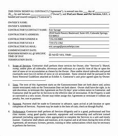 Commercial Snow Removal Contract What Does A Snow Removal Contract Include Mccnsulting
