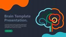 Brain Ppt Templates The Human Brain Presentation Template Free Powerpoint