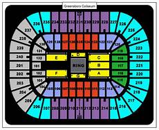 Greensboro Coliseum Seating Chart For Wwe Wwe Tickets May 13 2014 At 7 00 Pm Greensboro Coliseum
