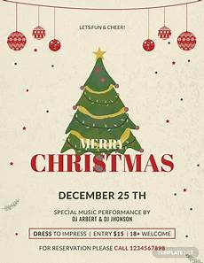 Work Christmas Party Flyer Free Christmas Party Promotion Flyer Template Word Psd