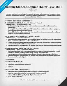 Entry Level Rn Resume Entry Level Nursing Student Resume Sample Amp Tips