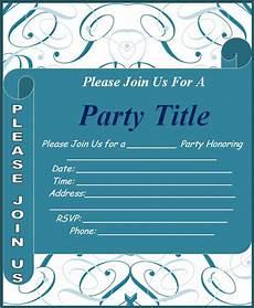 Event Invitation Templates Free Invitation Templates Free Word Templates