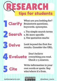 five tips for teaching students how to research and filter