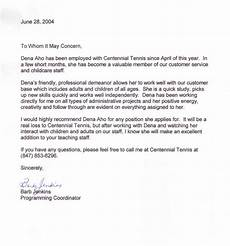 Letter Of Recommendation From Former Employer Search Results For Employee Recommendation Letter Sample