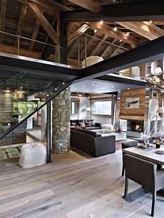 Deco Montagne Design D 233 Coration D Int 233 Rieur Moderne Pour Un Chalet De Luxe 224 La