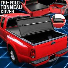 for 05 19 nissan frontier 6 1 quot bed tri fold soft trunk