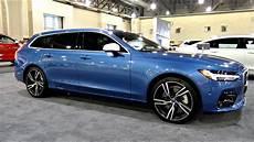 Volvo V90 by 2018 Volvo V90 R Design T6 Awd Review Epic Wagon
