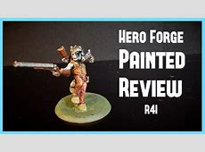Hero Forge Painting Review   R4I   YouTube