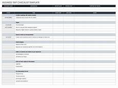 Business Plan Checklist Template 30 Free Task And Checklist Templates Smartsheet