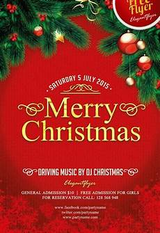 Christmas Flyer Templates Free 40 Premium Amp Free Psd Flyers As A Promotional Tool Free