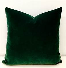 luxury green velvet throw pillows velvet pillow cover