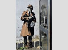 New Banksy in Cheltenham: Spy graffiti found near