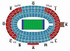 Cotton Bowl Seating Chart Rows New Seating Chart For Cotton Bowl Ticketcity Insider