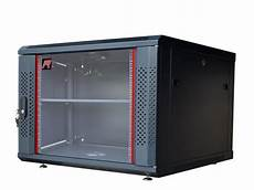 6u wall mount it network cabinet enclosure server rack