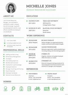 Formatted Resume Template Free Professional Hr Resume And Cv Template In Psd Ms