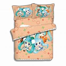 japanese anime hatsune miku bed sheets bedding sheet