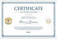 Certificates Templates Certificate Template Retro Design Background Stock