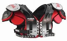 Riddell Sizing Charts Shoulder Pads Shoulder Pad Riddell Evx 45 Running Back Tight End Pads