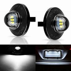 Led License Plate Light F150 2x Led License Plate Light Lamp Assembly Replacement For