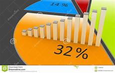 Artistic Pie Chart Pie Chart Stock Illustration Illustration Of Artistic