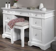 gainsborough white dressing table solid white