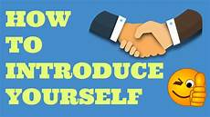 How To Introduce Yourself In An Interview How To Introduce Yourself In Interview As A Fresher
