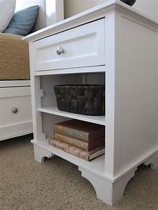 diy nightstand woodworking plans to