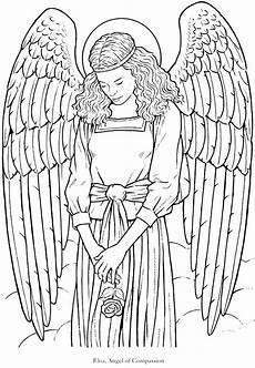 Kostenlose Malvorlagen Engel Gabriel Coloring Page At Getcolorings Free