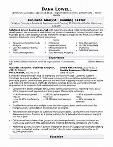 Business Resume Objective Business Analyst Resume Sample Monster Com