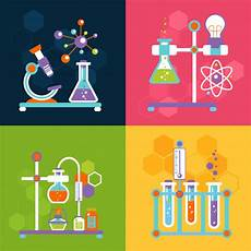 Chemistry Cover Page Designs Chemistry Design Concepts Free Vector