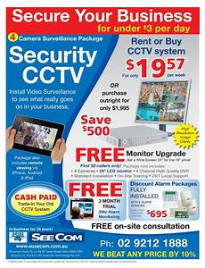 Business Advertisement Sample Security Cctv Systems Adverts That Generate Sales Leads