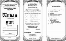 contoh undangan format microsoft word contoh isi undangan