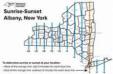 Sunrise Sunset Chart Nyc Sunrise Sunset Table Nys Dept Of Environmental Conservation