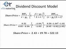 Discount Cash Flow Model Dividend Discount Model And Discounted Free Cash Flow