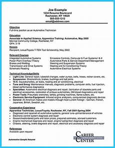 Auto Mechanic Cover Letter Writing A Concise Auto Technician Resume