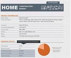 House Building Budget Home Construction Budget Spreadsheet