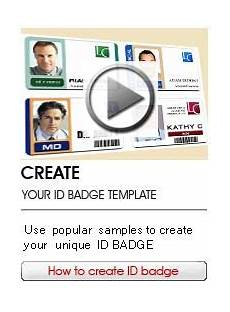 Make Id Badges Online Free Online Id Badge Maker Low Cost And Professional Card