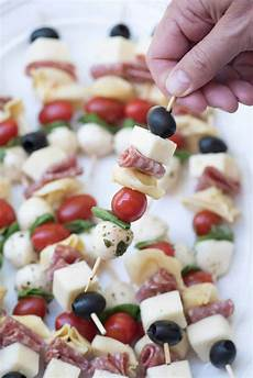 appetizers skewer antipasto skewers an easy impressive appetizer