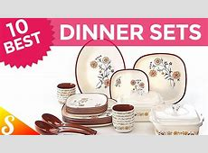10 Best Dinner Set Brands in India with Price   YouTube
